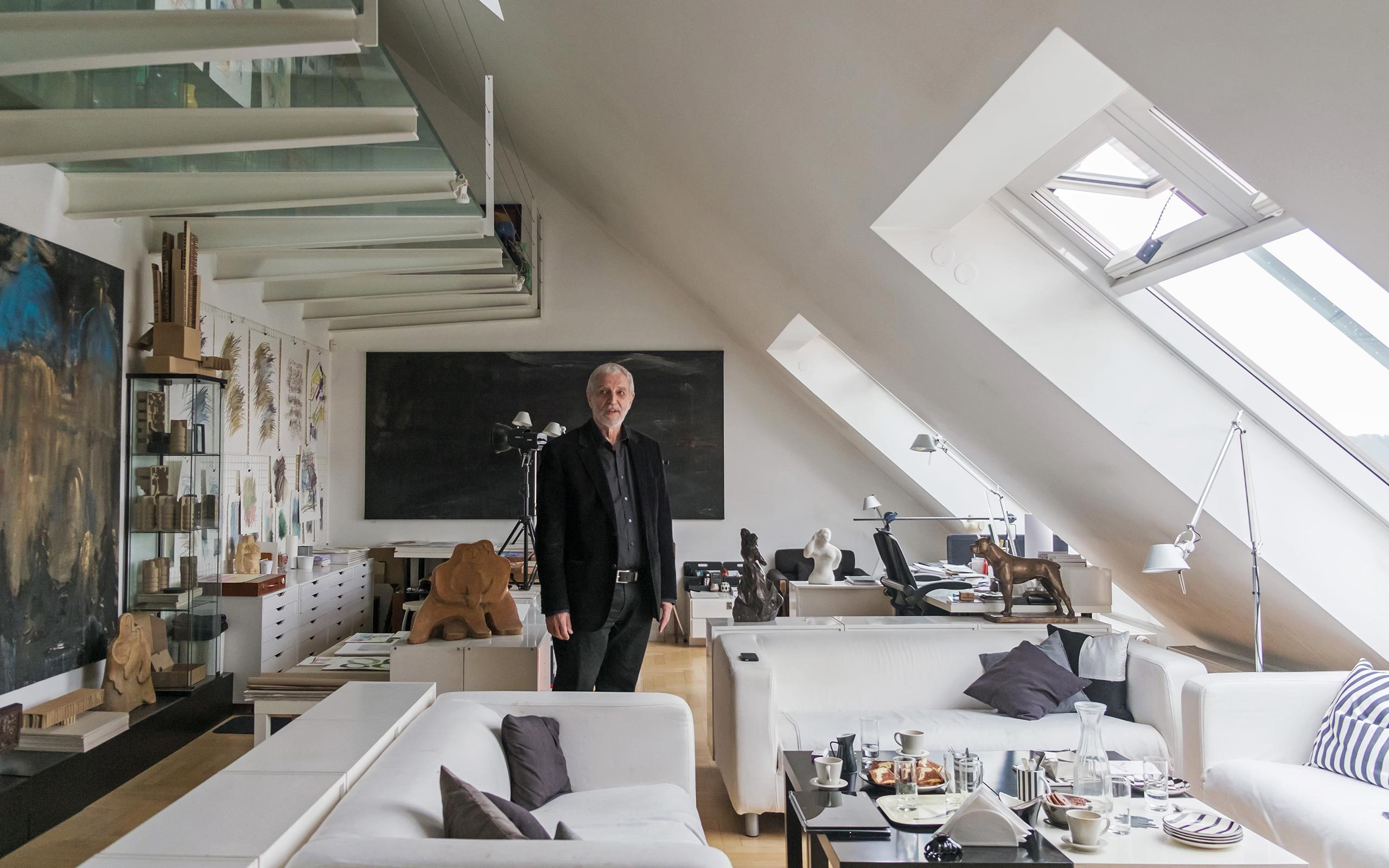 16 Michael Trestik, architect, writer, collector and artist, Prague