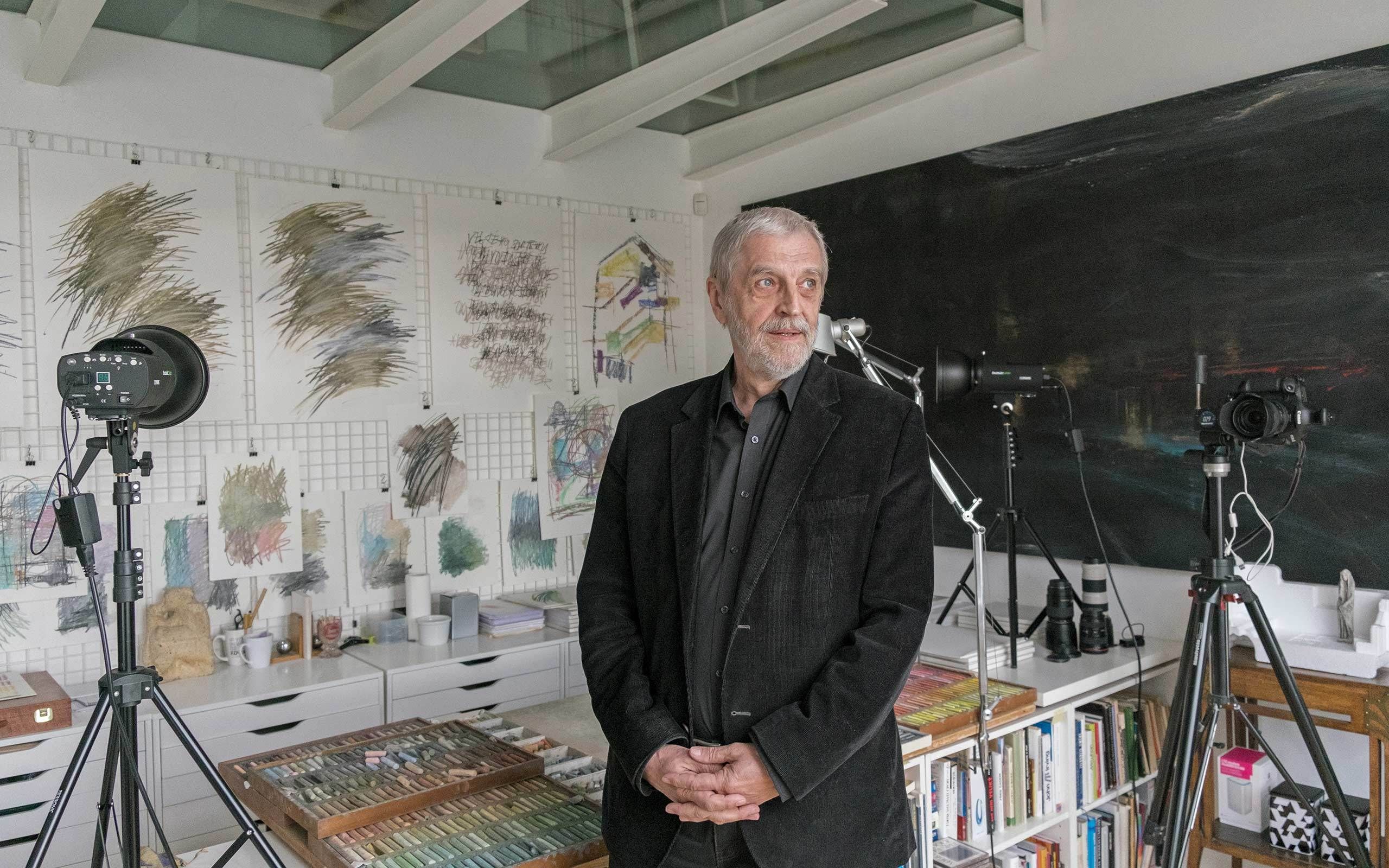 17 Michael Trestik, architect, writer, collector and artist, Prague