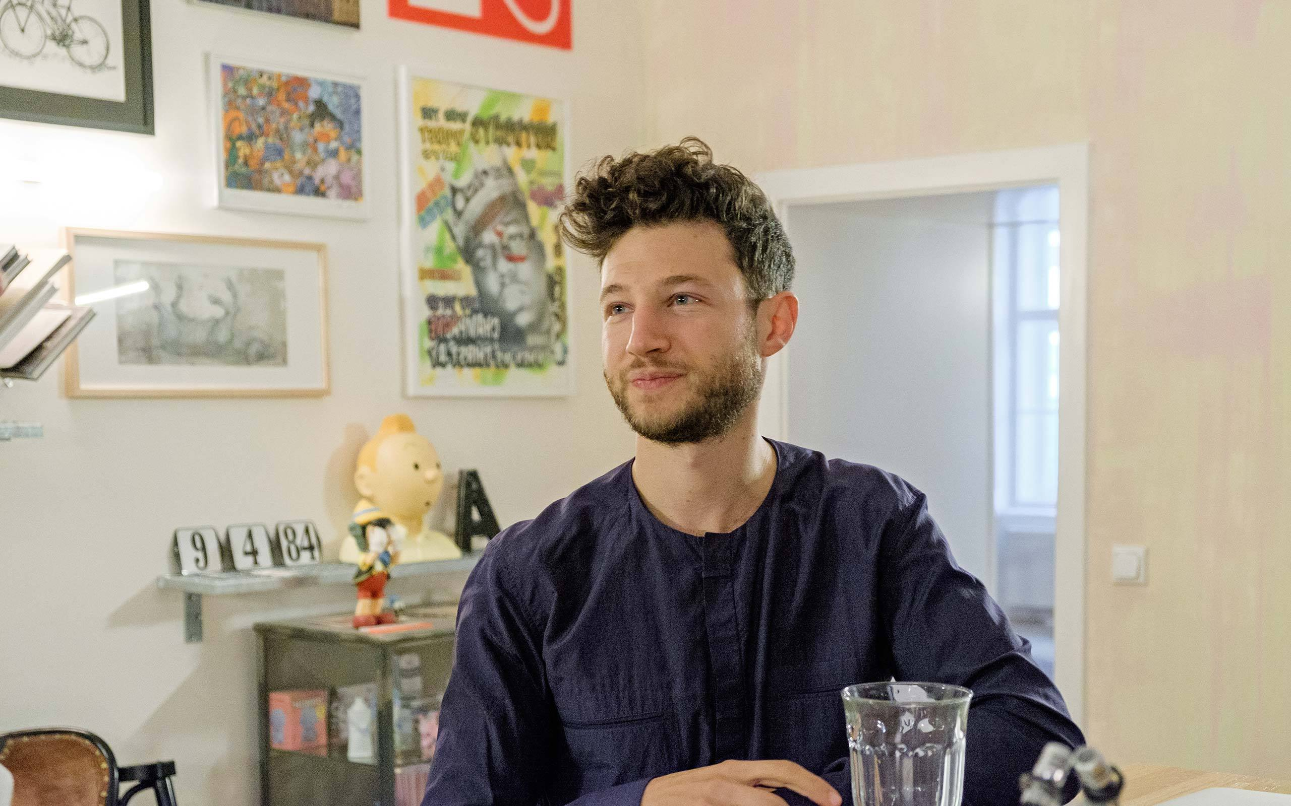 01 Nuriel Molcho, entrepreneur and art collector, NENI, Vienna