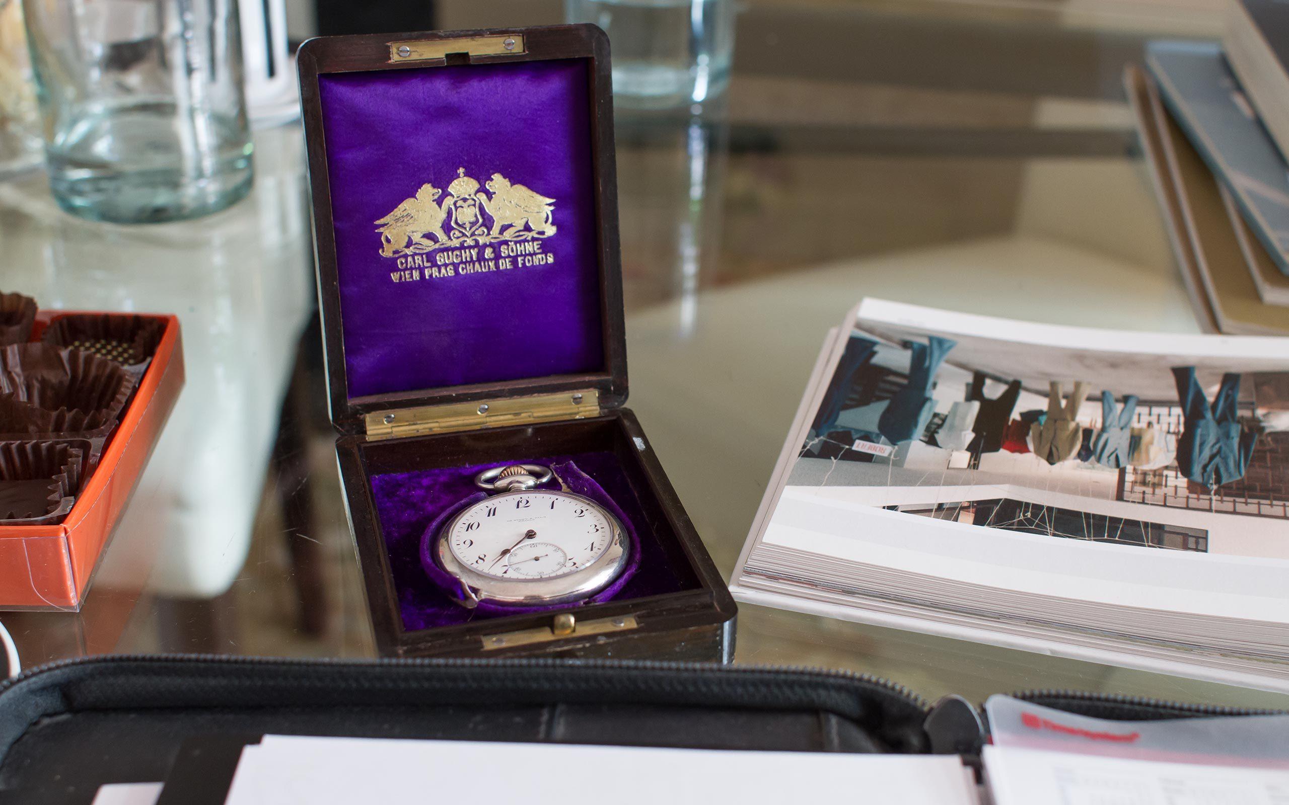 13 original Carl Suchy watch, Vienna