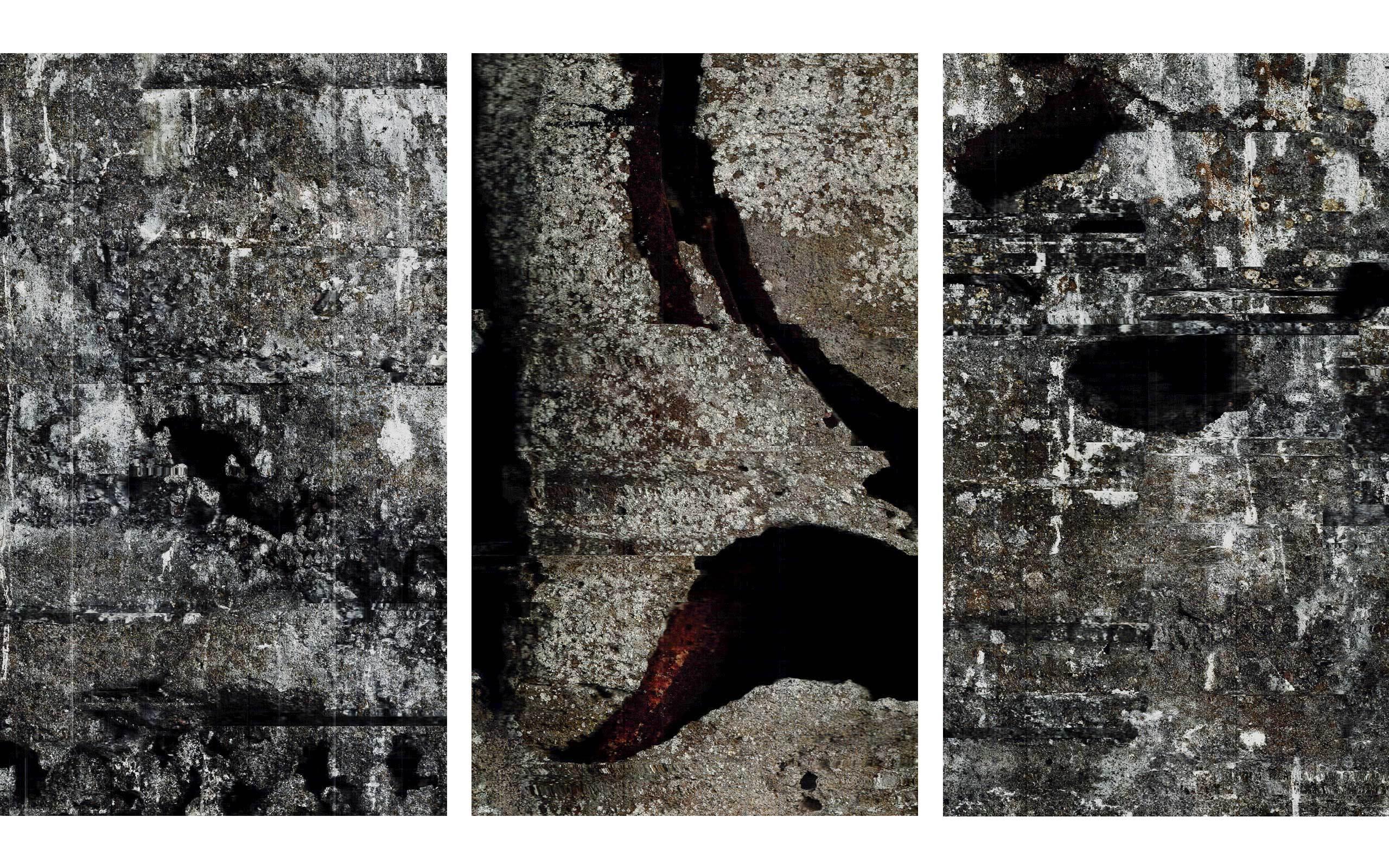 01 John Skoog limited-release art edition (Rift 1) South Wall; (Rift 2) North Wall; (Rift 3) South Wall