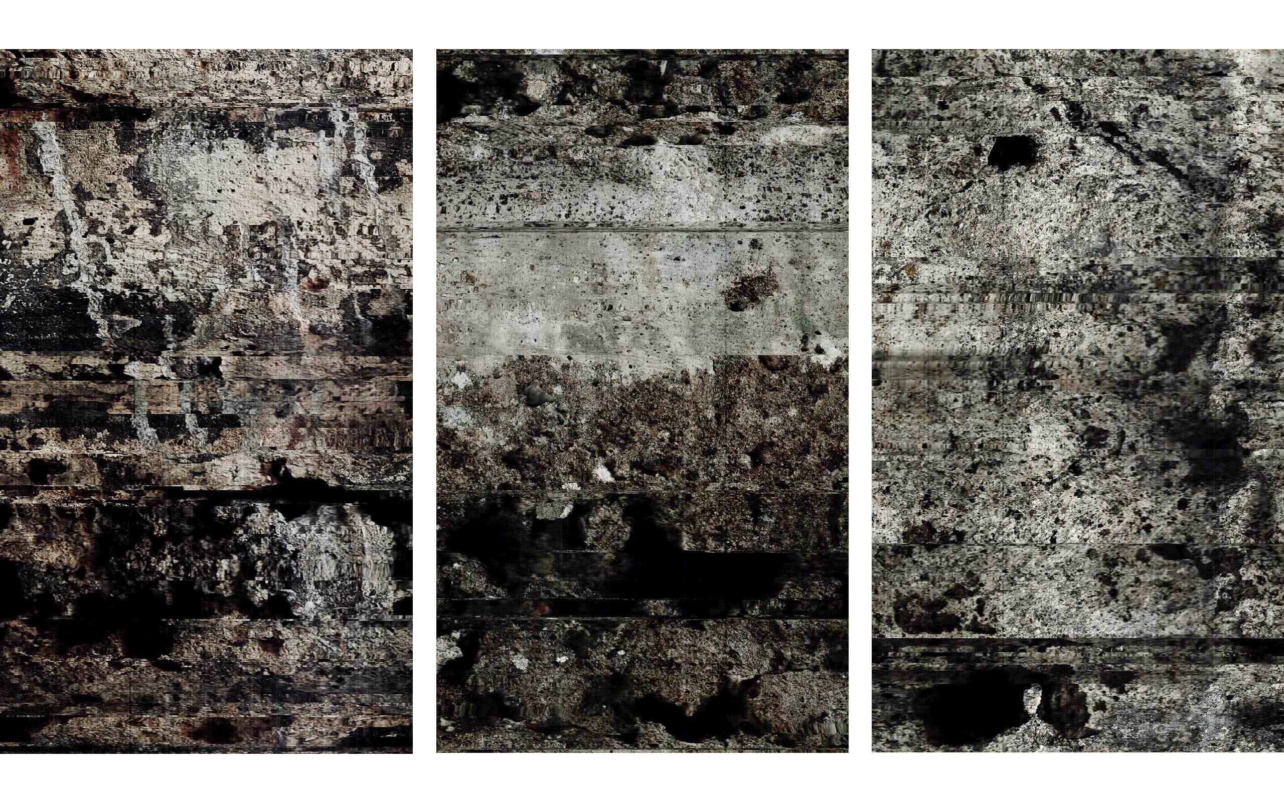 03 John Skoog limited-release art edition (Rift 7) West Wall; (Rift 8) East Wall; (Rift 9) West Wall