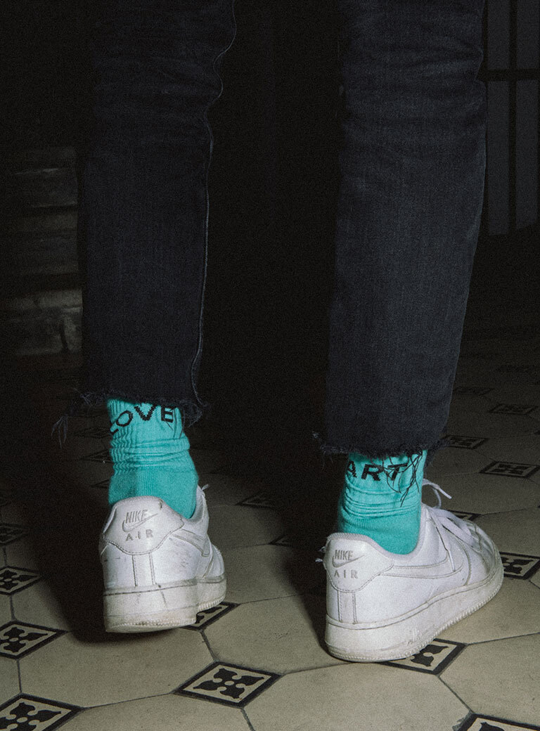 Th Love Art Socks