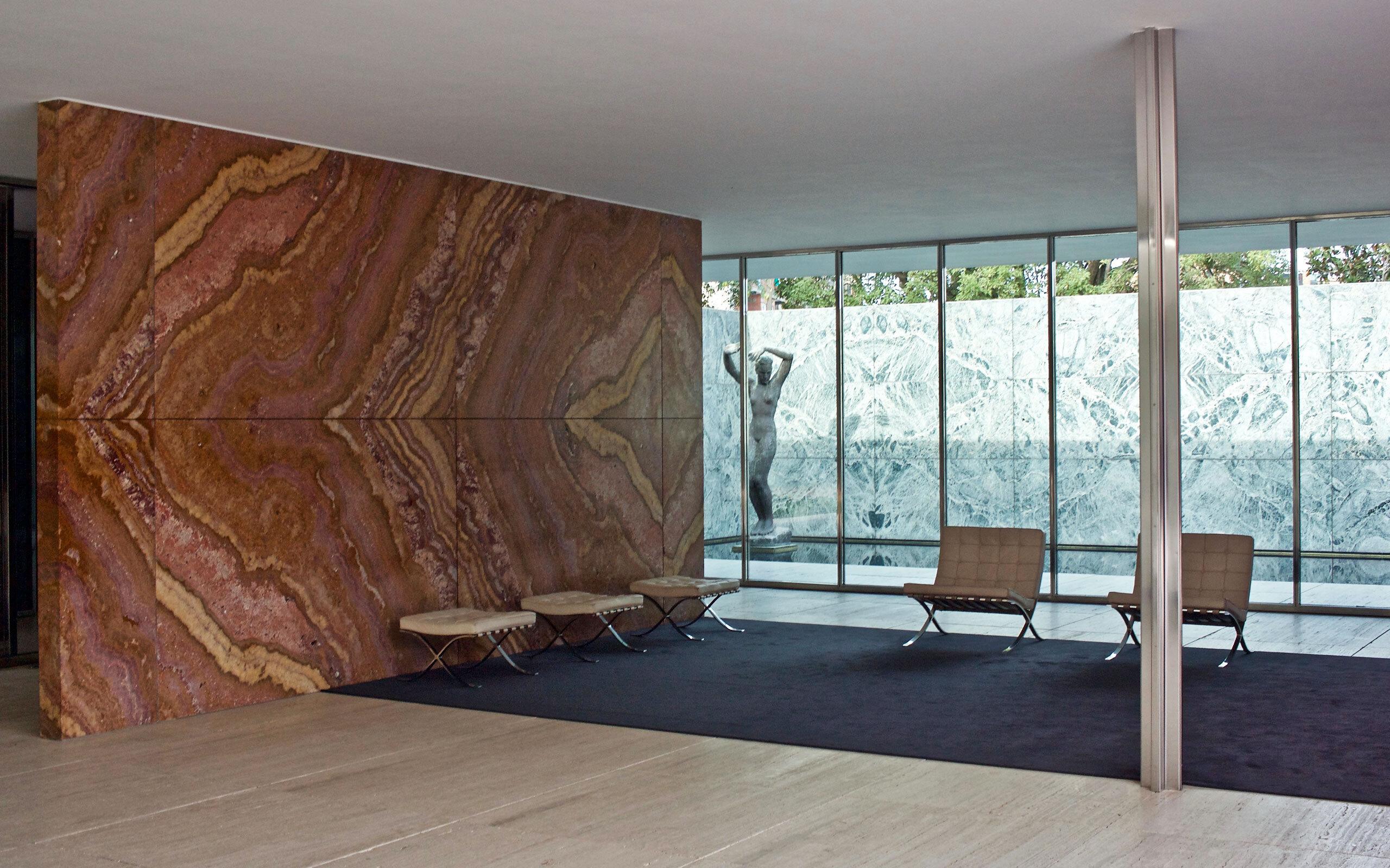 Barcelona Pavilion Mies van der Rohe c Naotake Murayama